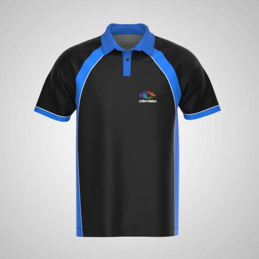 Sublimated Men's Polo Shirt - Raglan Sleeves