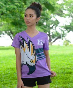 Sublimated Women's V-Neck T-Shirt