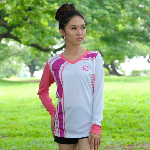 Sublimated Women's Long Sleeves Shirt
