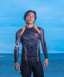 Customized Sublimated Rash Guard