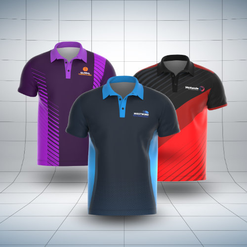 Pre-Made Polo Shirt Designs