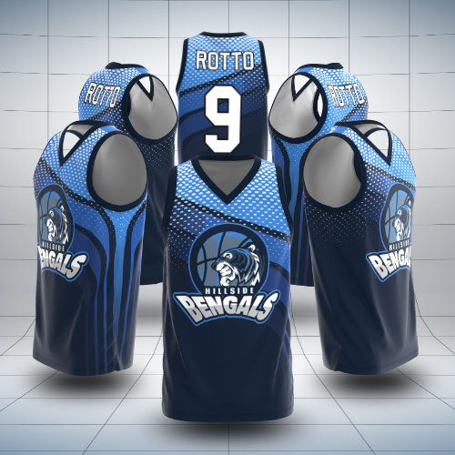 Pre-Made Basketball Jersey Designs