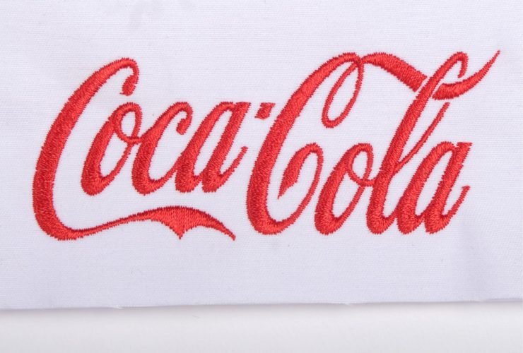 Sample Coca-Cola Embroidery