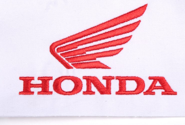 Sample Honda Embroidery