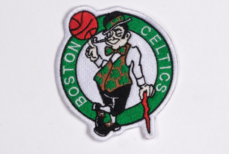 Sample Boston Celtics Embroidery