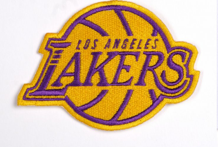 Sample Lakers Embroidery