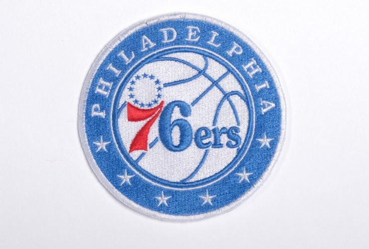 Sample 76ers Embroidery