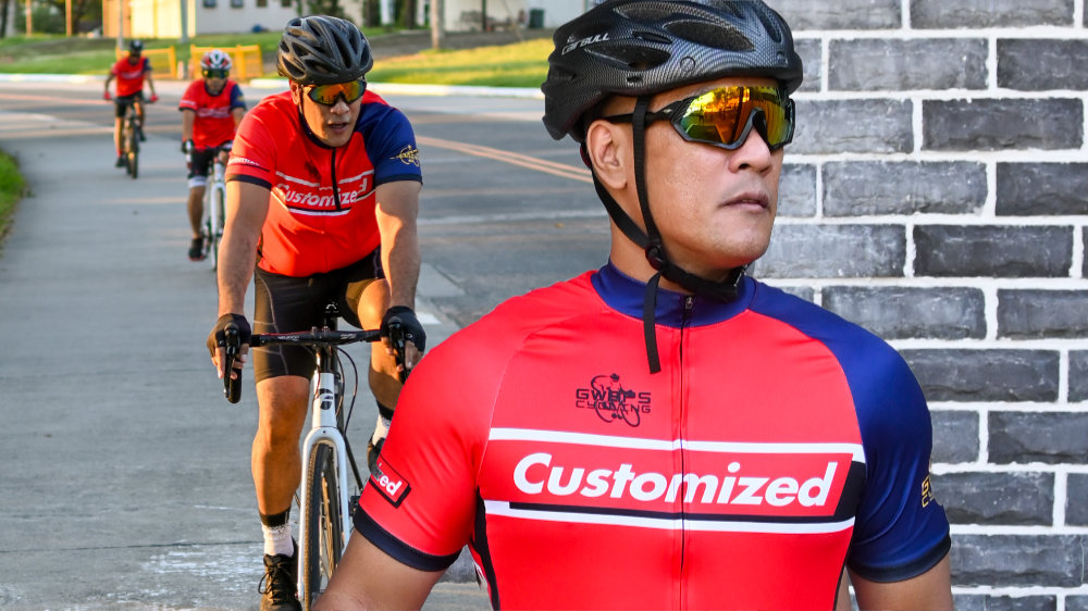Customized Cycling Jerseys: Sublimated Biker Jersey